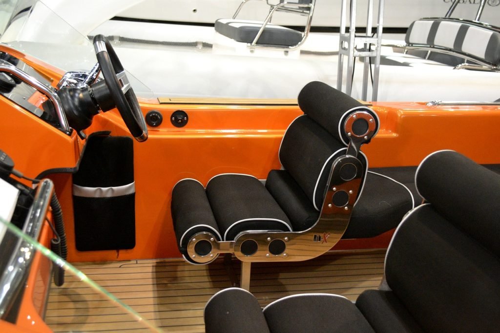 boat upholstery cleaning